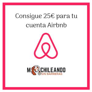 25 euros gratis para tu cuenta airbnb