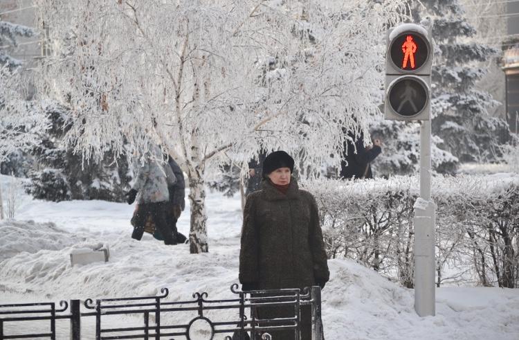 Siberia en enero, Irkutsk