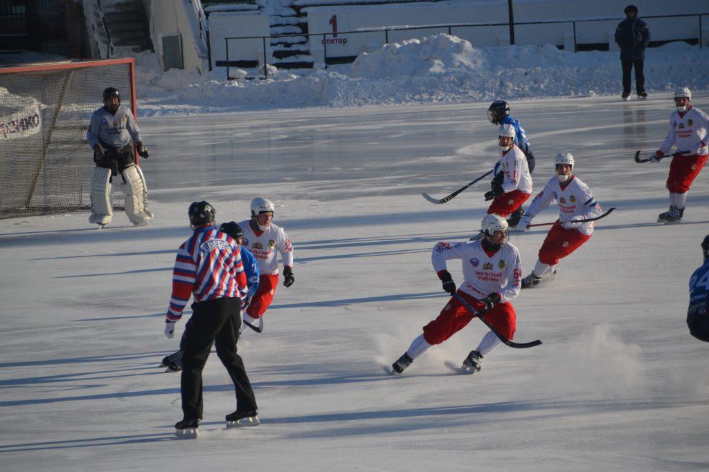 Partido de hockey Irkutsk