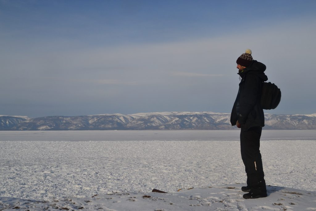 Lago Baikal helado