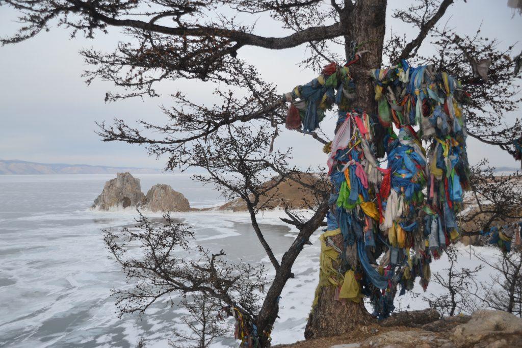 Ofrendas alrededor del lago Baikal