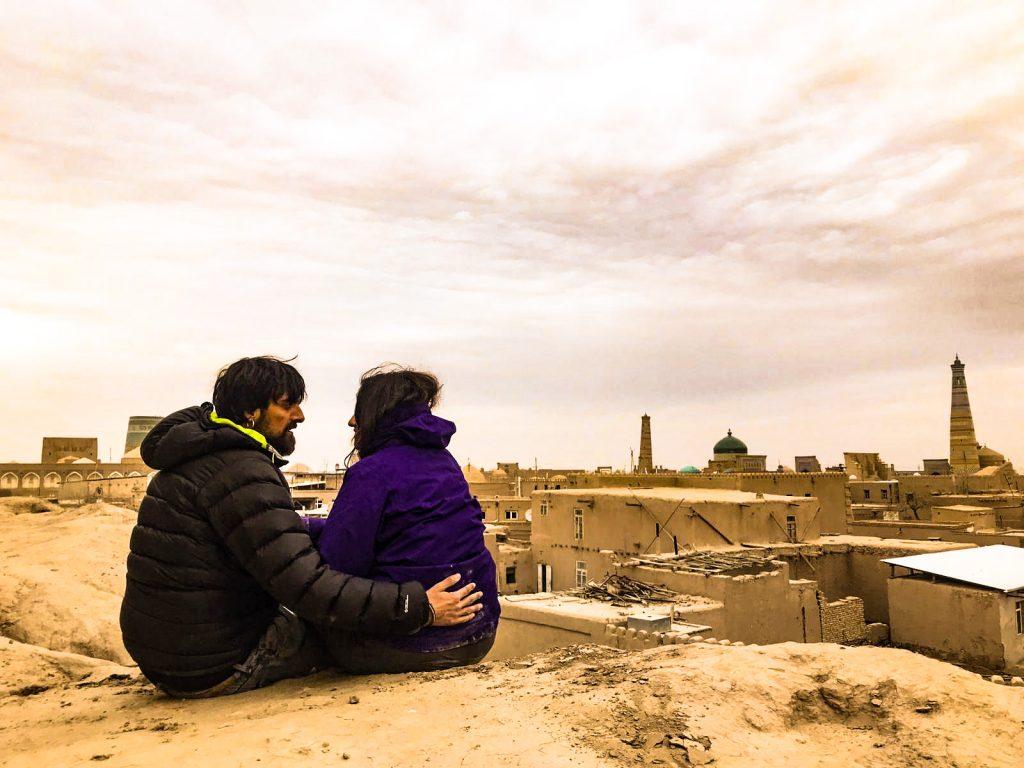 Atardecer en Khiva