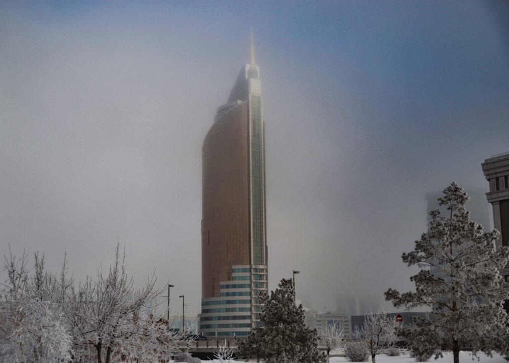 Astana en enero