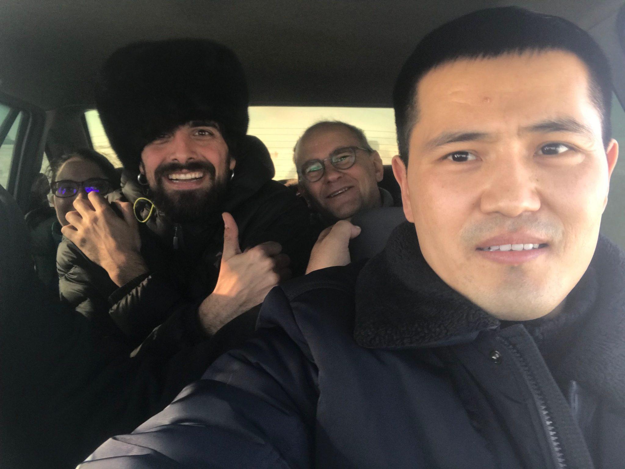 De camino a Shymkent