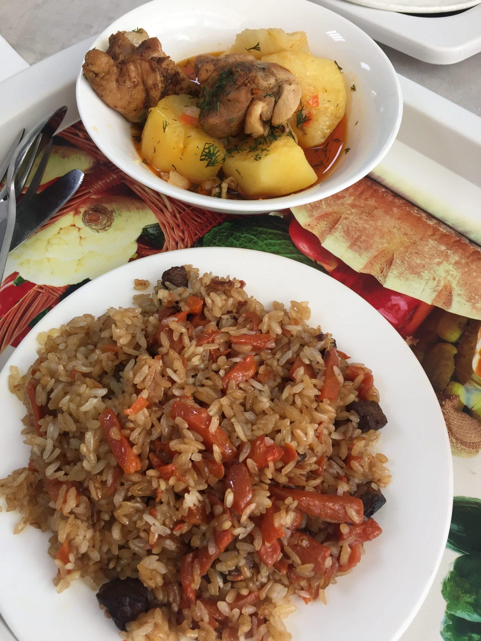 Carne de caballo y arroz