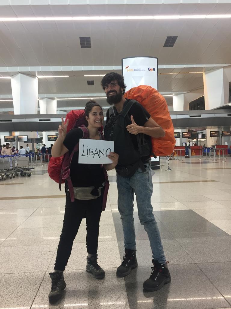 Preparados para la aventura por Líbano