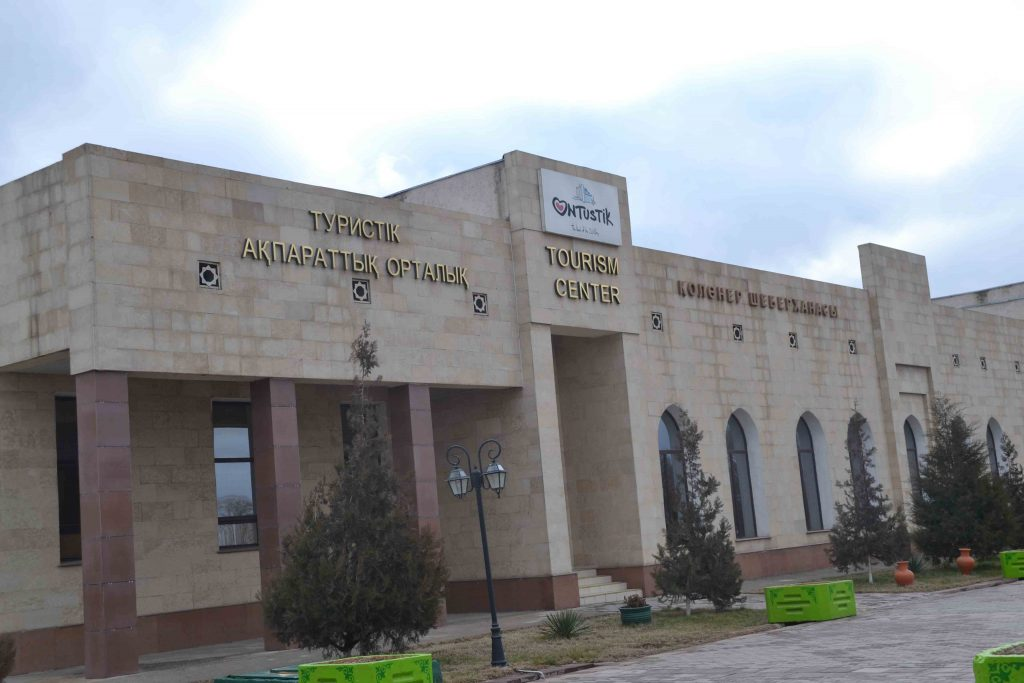 Oficina de turismo de Turquestán