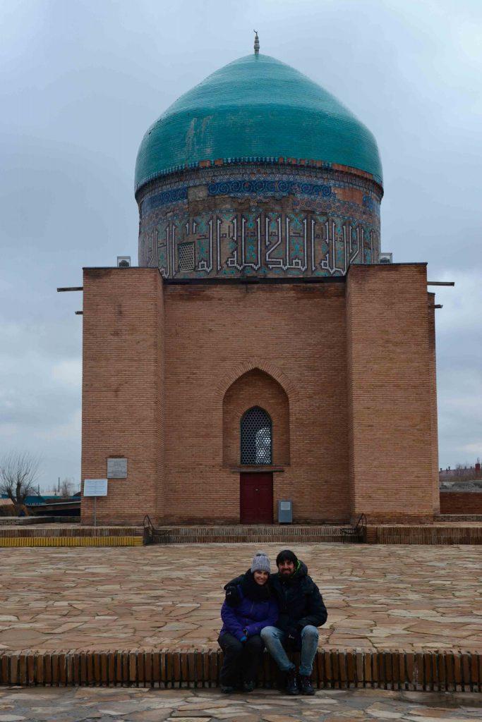 Otro Mausoleo menor del conjunto arquitectónico de la plaza