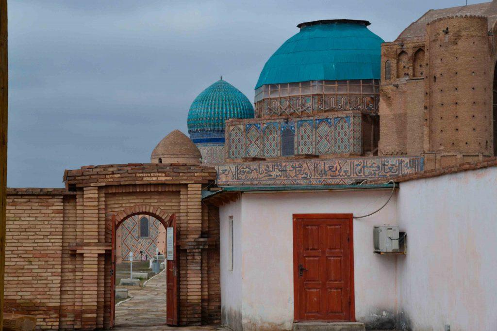 Cúpulas del Mausoleo de Turquestán
