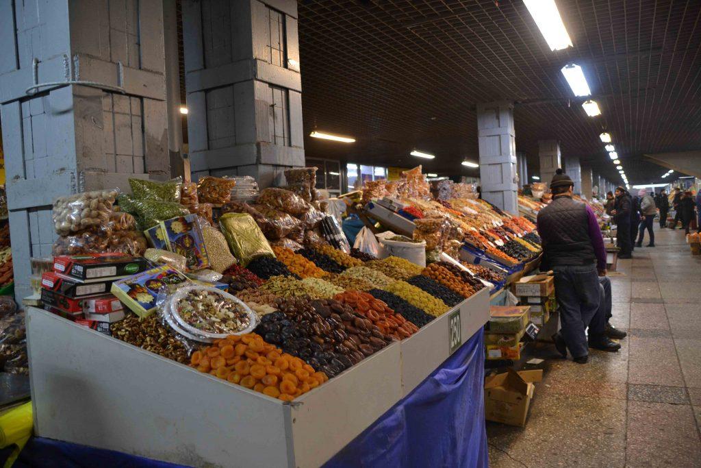 Puesto dentro del Green Bazar