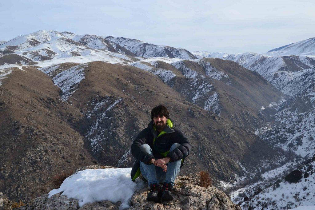 Desde la cima de la montaña