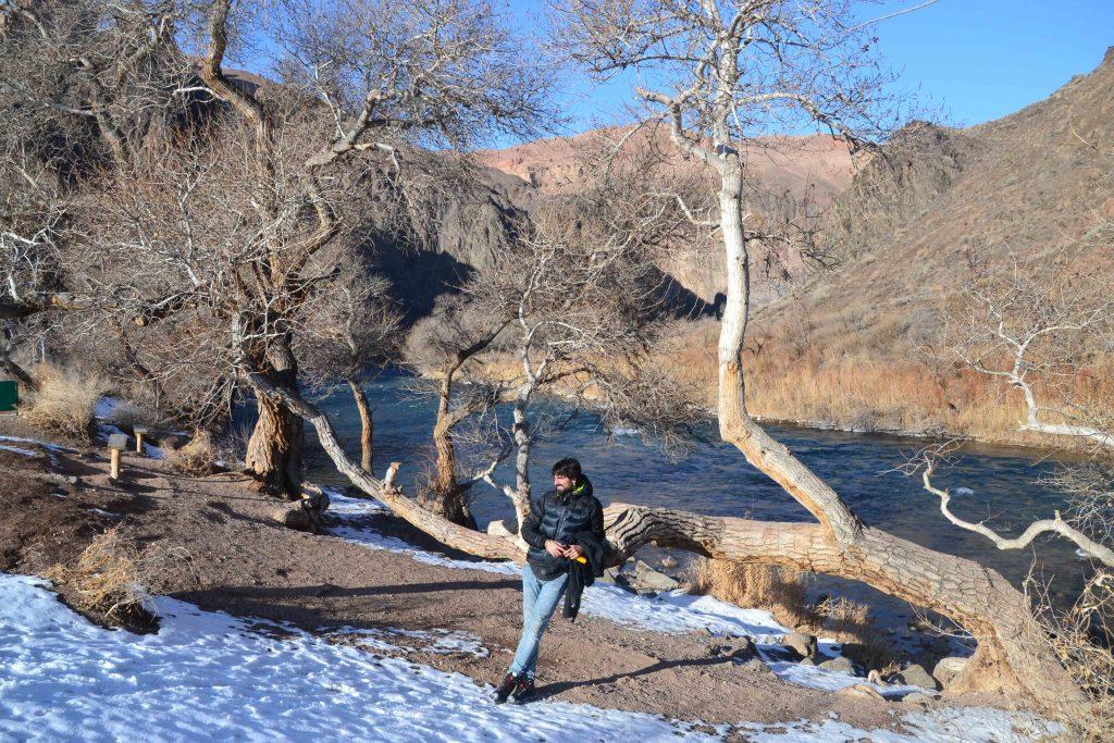 Rio en el Cañón Charyn