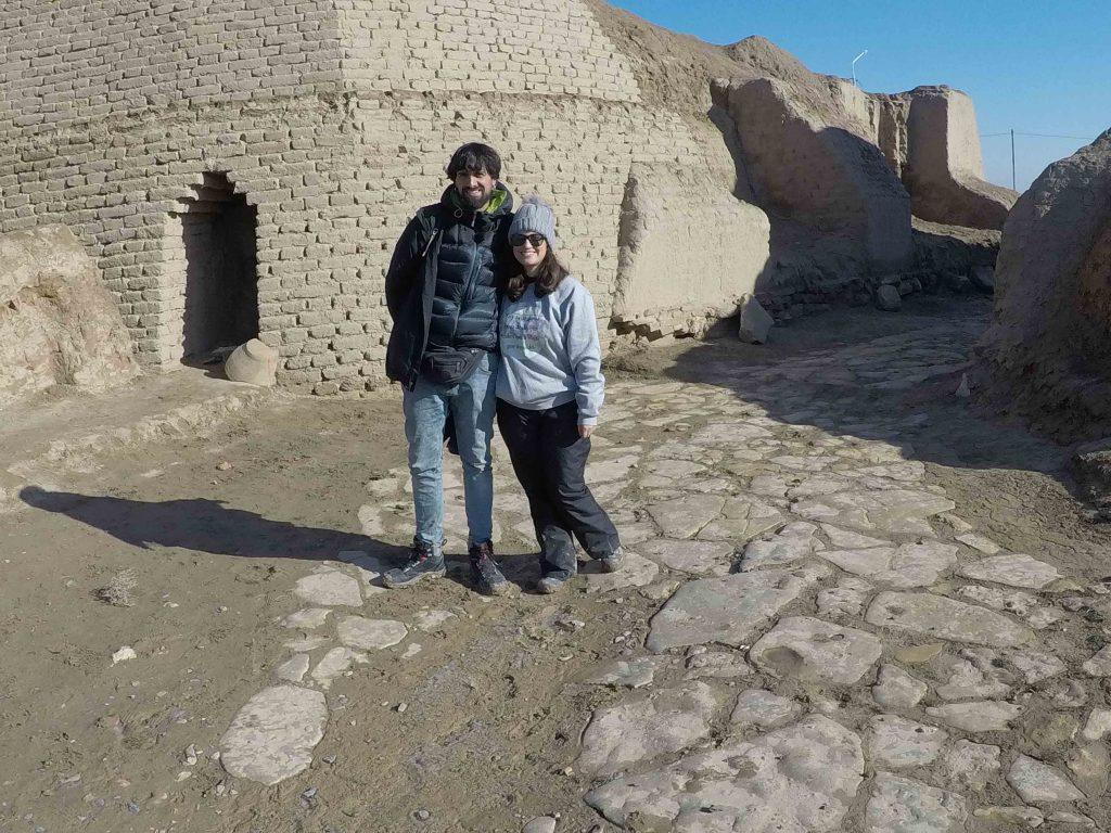 Entrada a las ruinas de Sauran