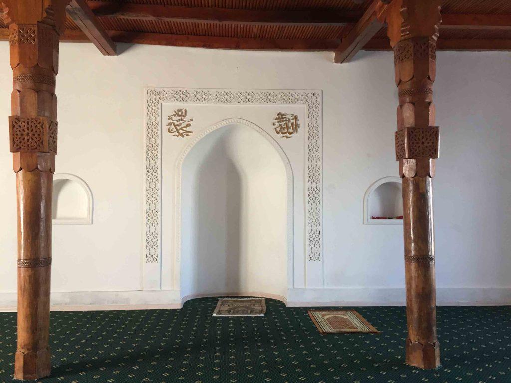 Interior mezquita del mausoleo