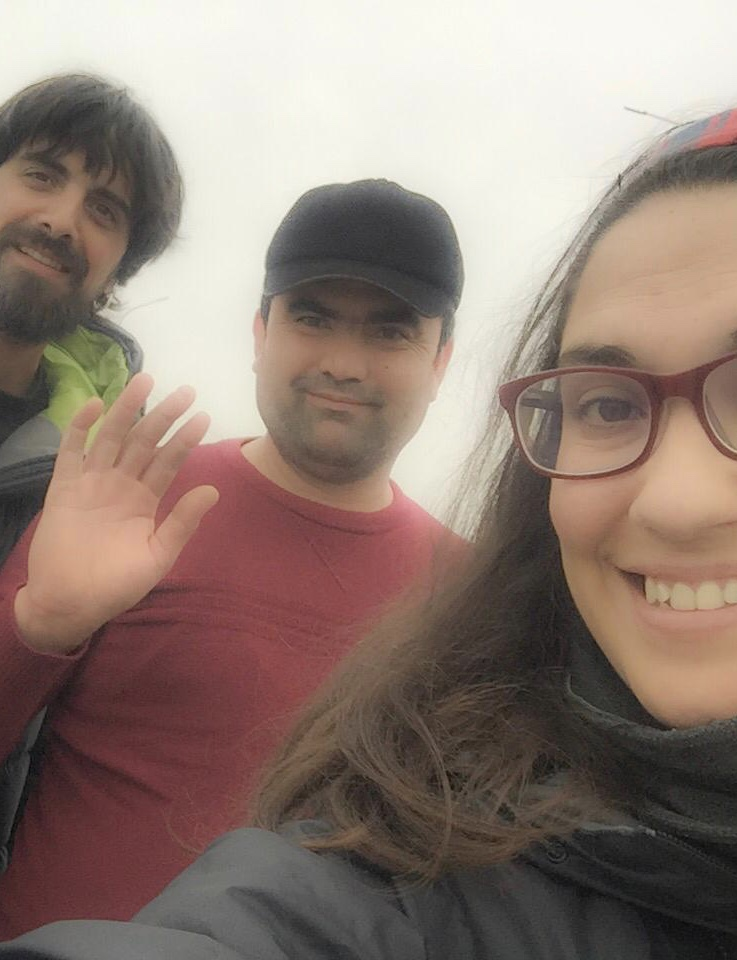 Con nuestro conductor al llegar a Khiva