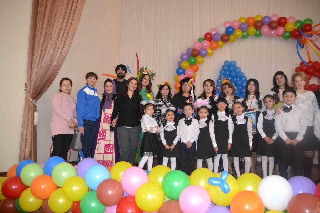 Con los alumnos y profesores