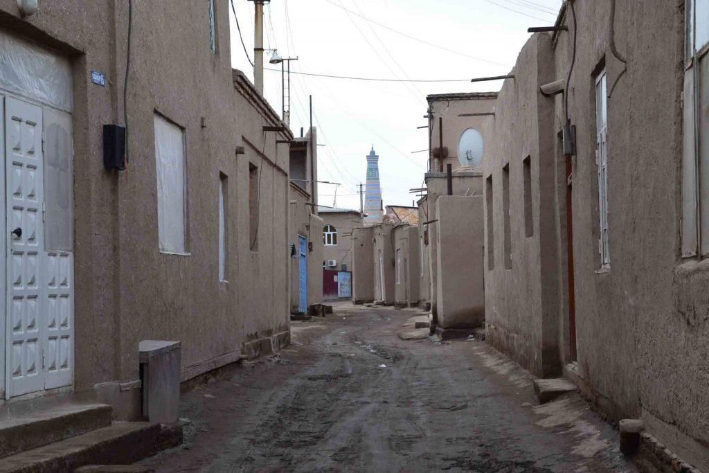 calles del casco antiguo de Khiva