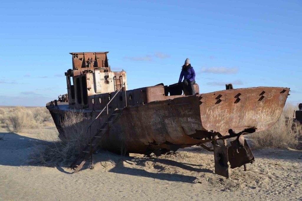 Barcos del mar aral