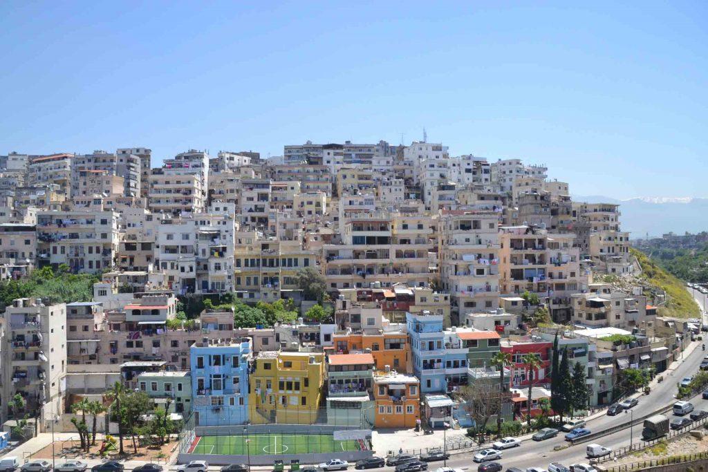 Vistas de Trípoli desde su fortaleza