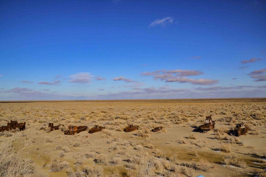 Mar aral desde Moynaq