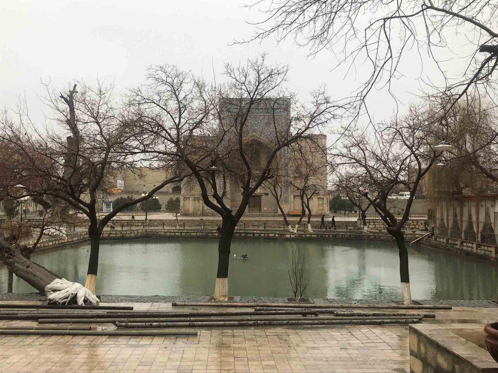 Plaza en inverno