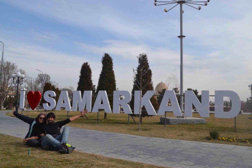 Bienvenido a Samarcanda