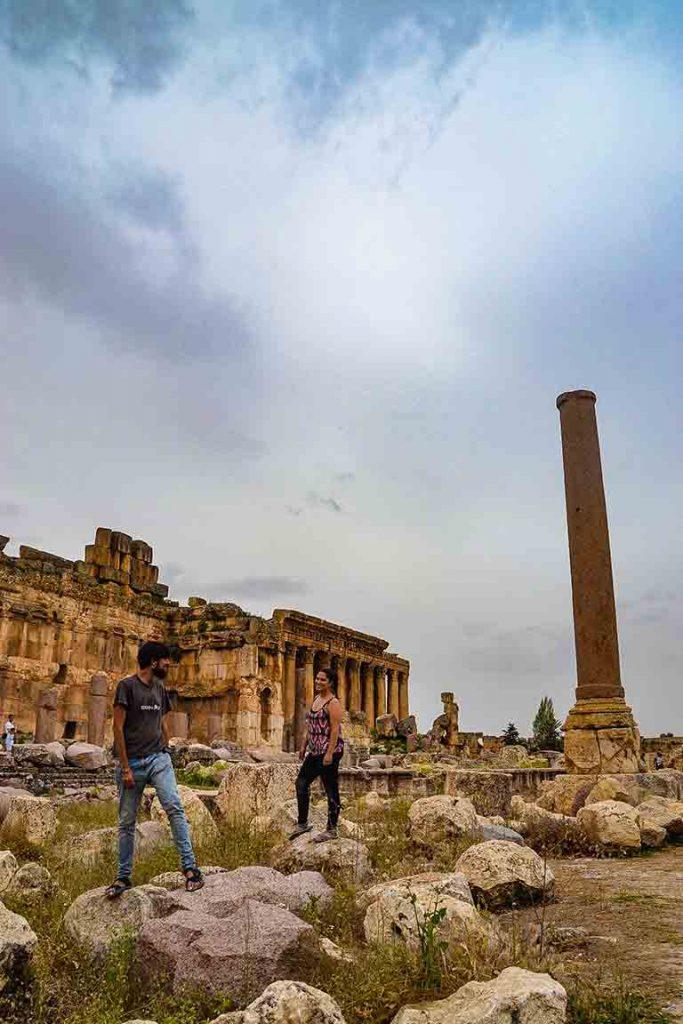 Ruinas de Líbano