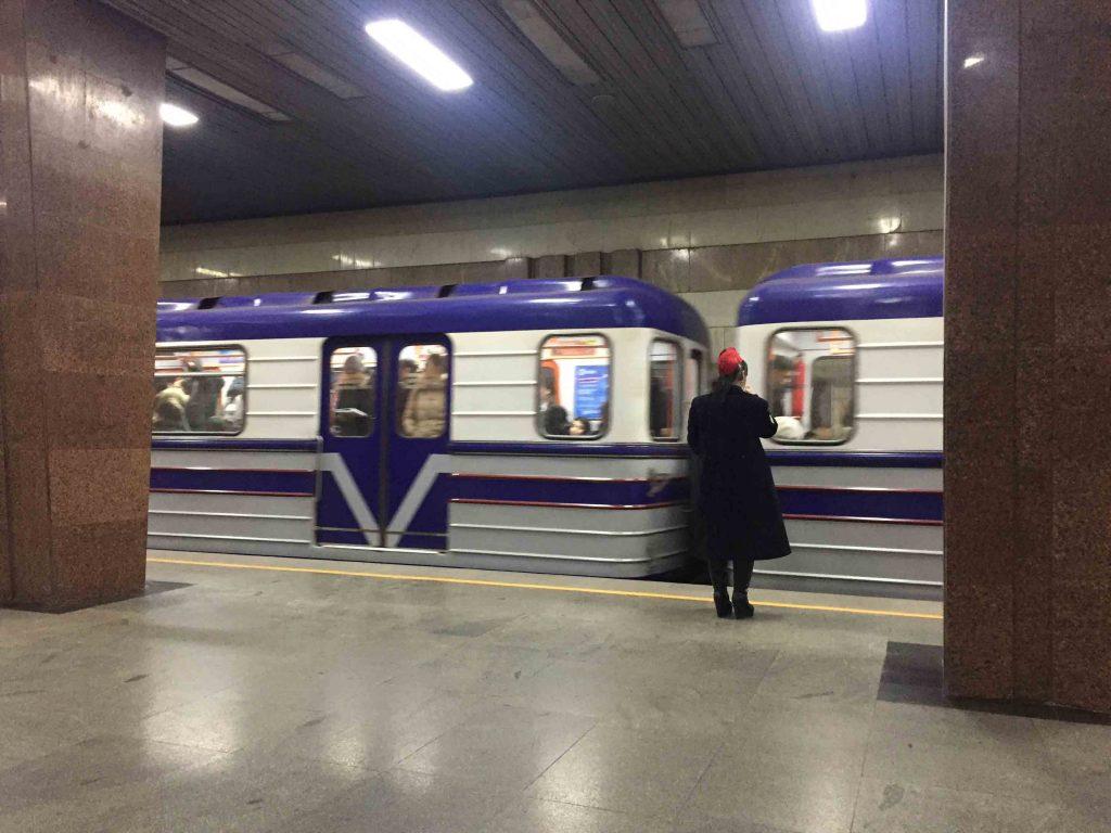 Metro sovietico de Tashkent