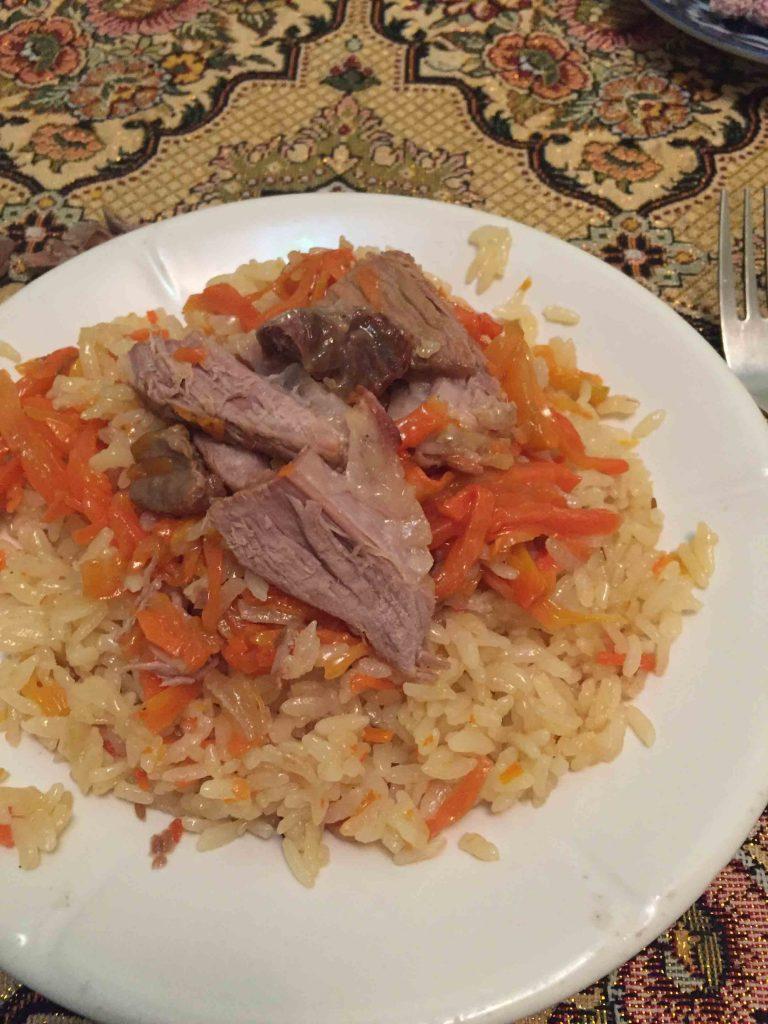 Plov, plato típico del país