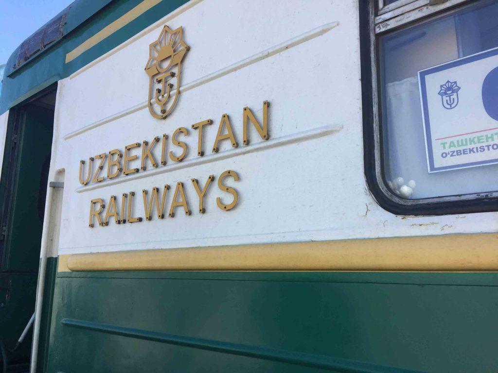 Trenes soviéticos de Uzbekistán