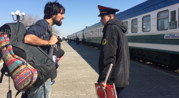 Tren Uzbekistán