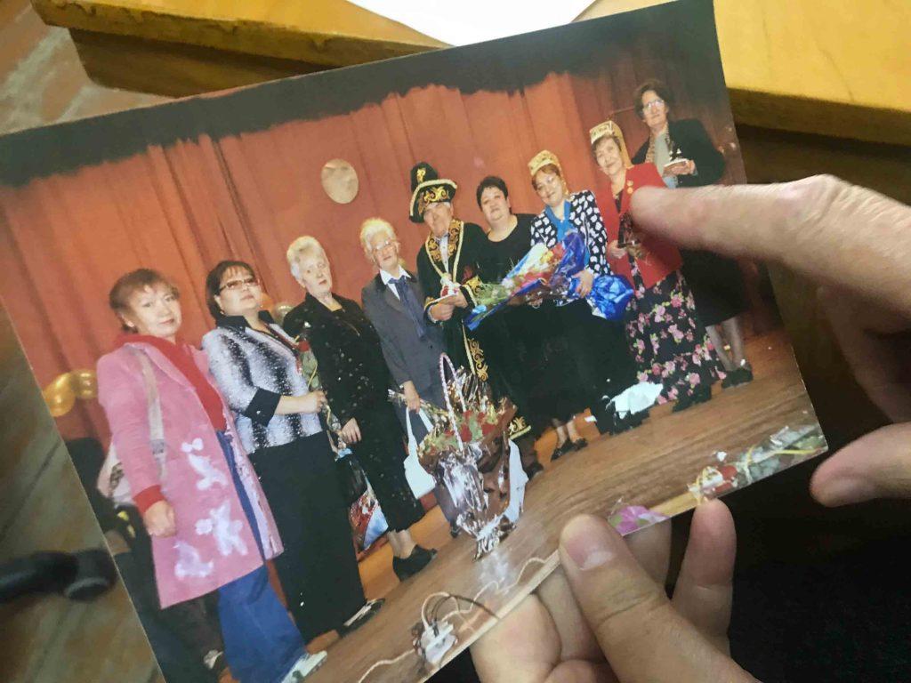 Fotografía recuerdo de un encuentro de asociaciones