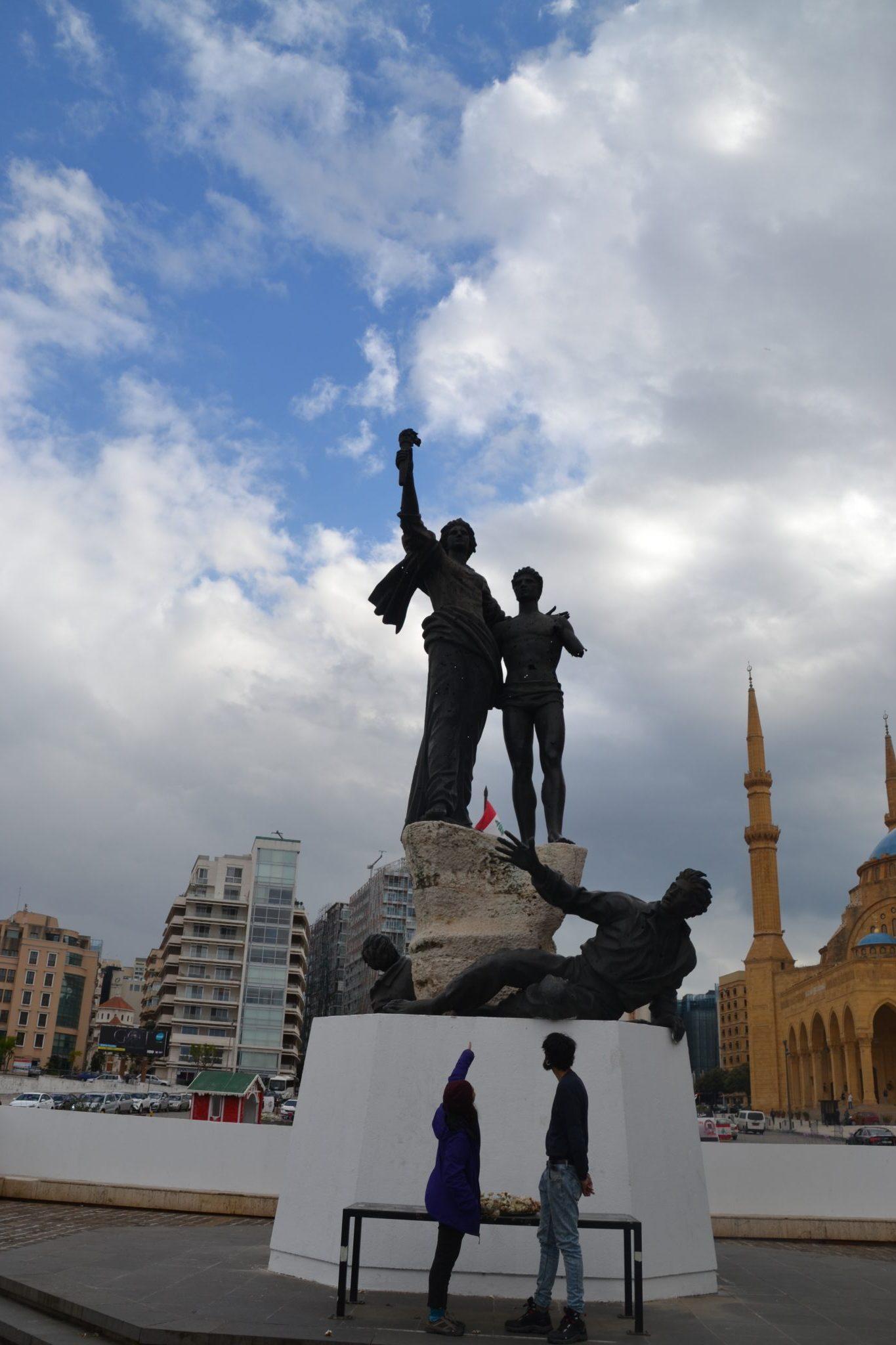 Plaza de los Martires en Beirut