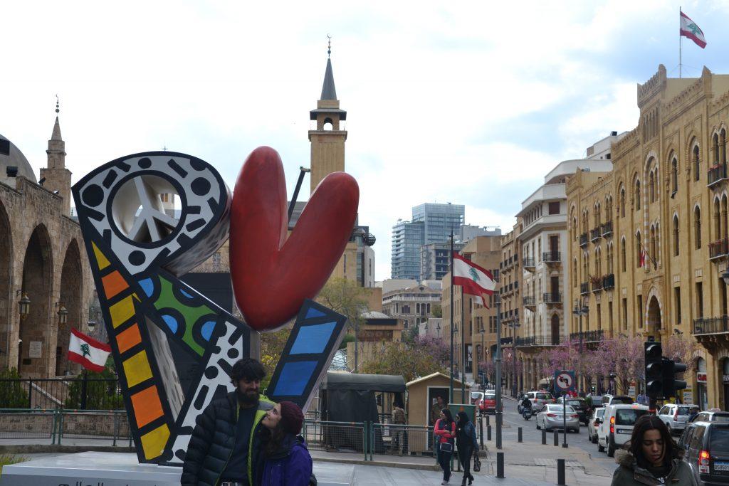 Centro de la ciudad de Beirut