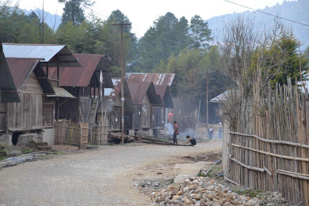 Valle Ziro. Aldea Hong