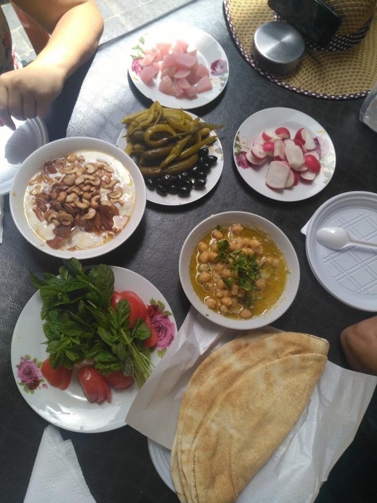 Manjares libaneses, recuperando kilos