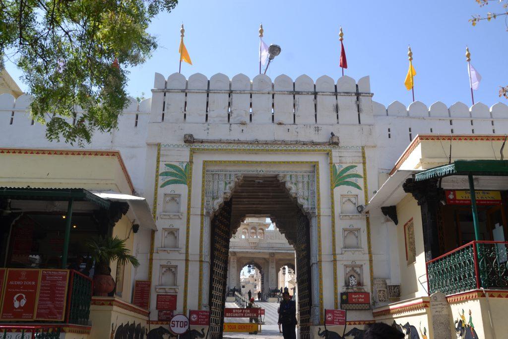 Entrada a la ciudad Palacio de Udaipur