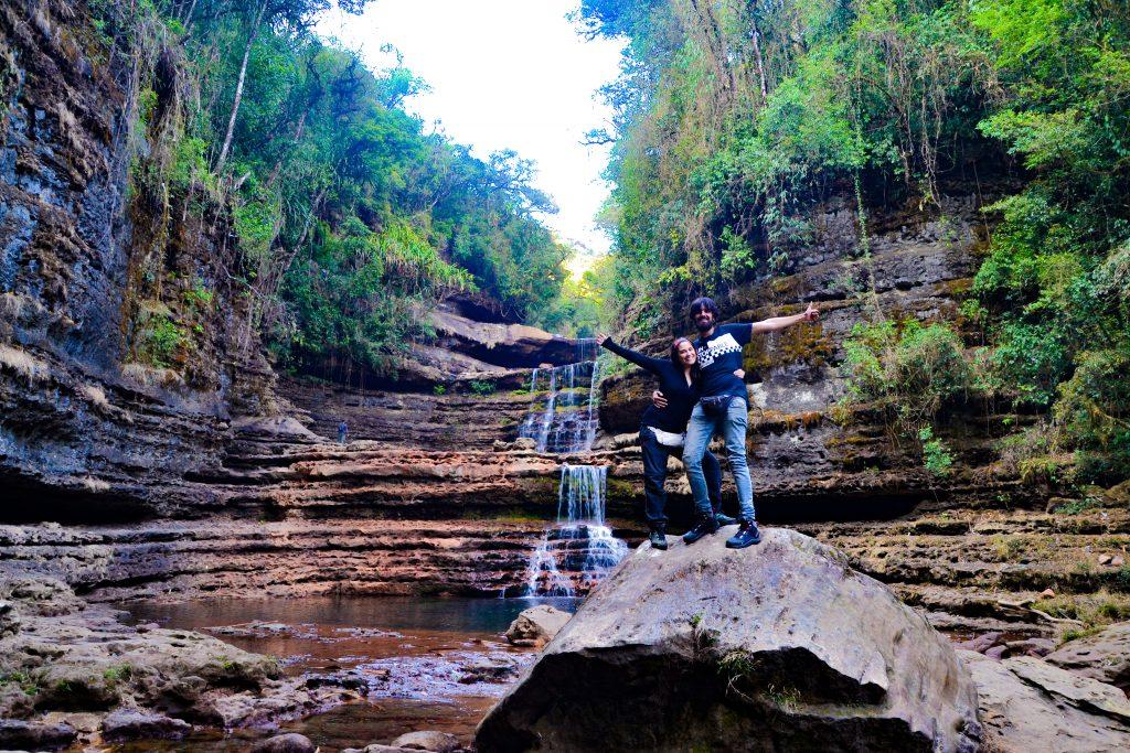 Disfrutando de la naturaleza de Meghalaya