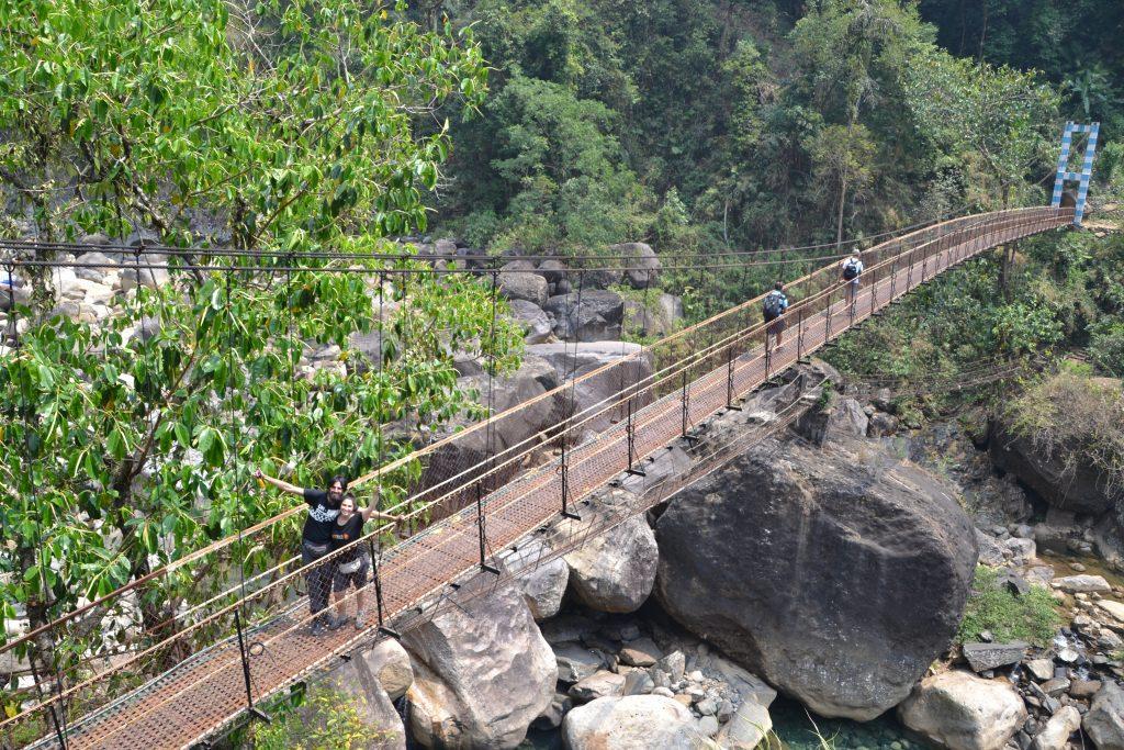 Trekking por la región de Meghalaya