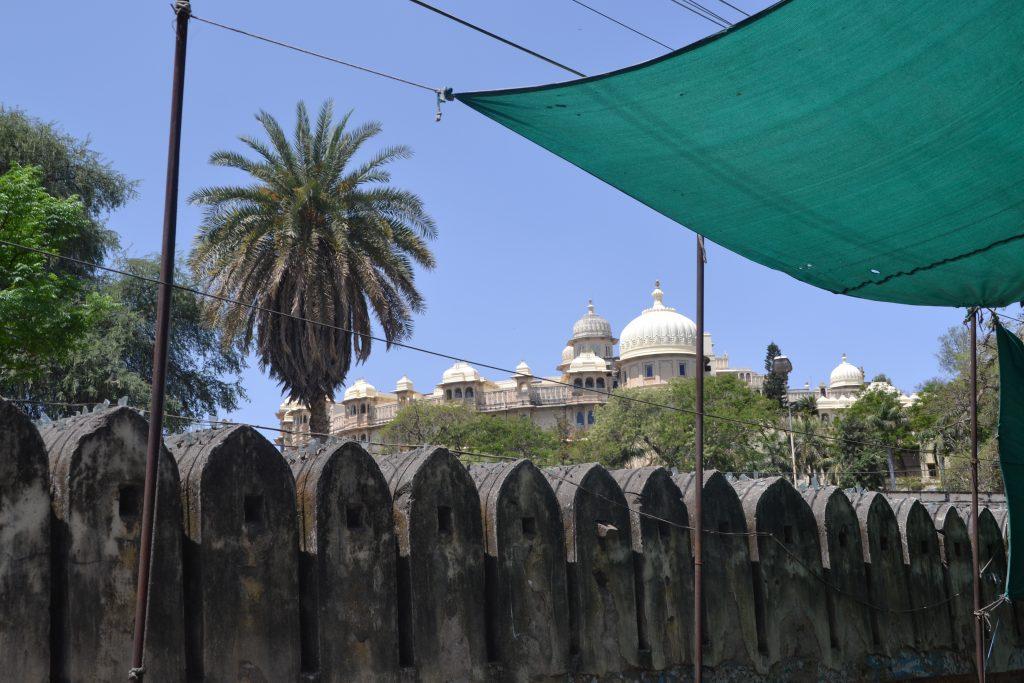 Vista panorámica de la ciudad Palacio