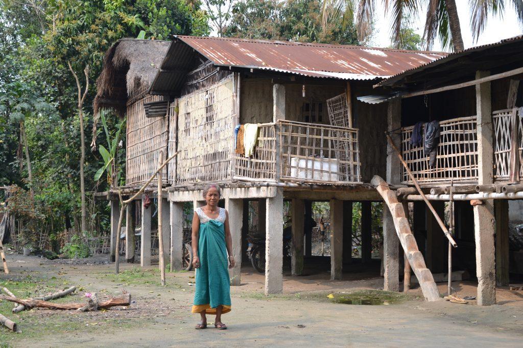 Recorriendo las tribus e Majuli y conociendo a sus simpáticos habitantes