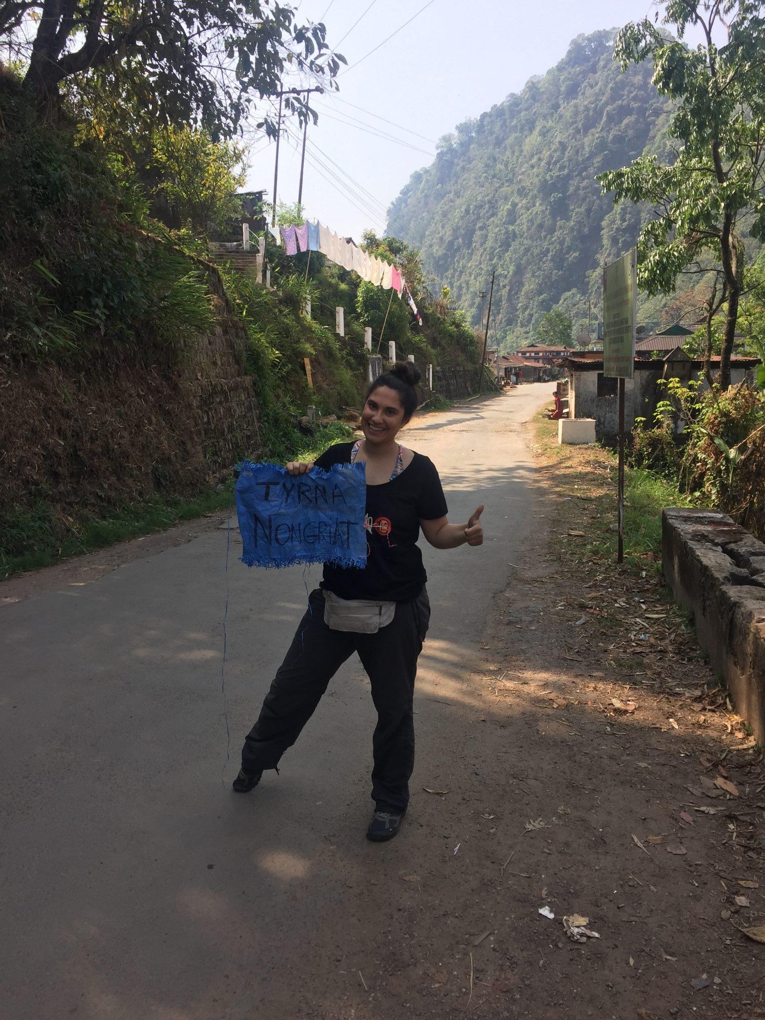 Autostop en Meghalaya