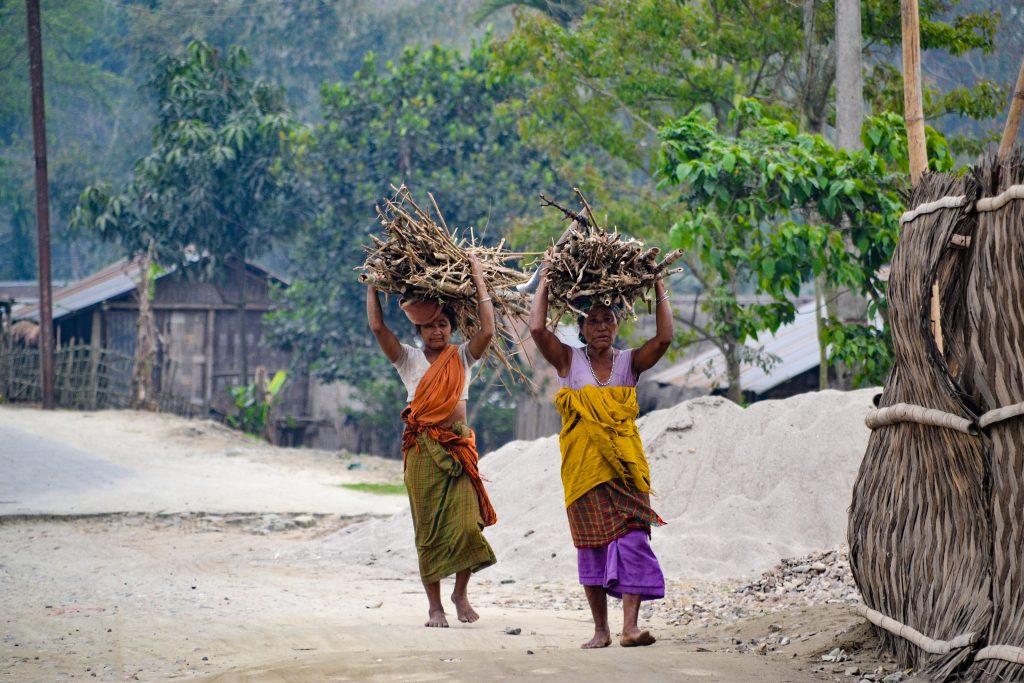 Mujeres Isla Majuli