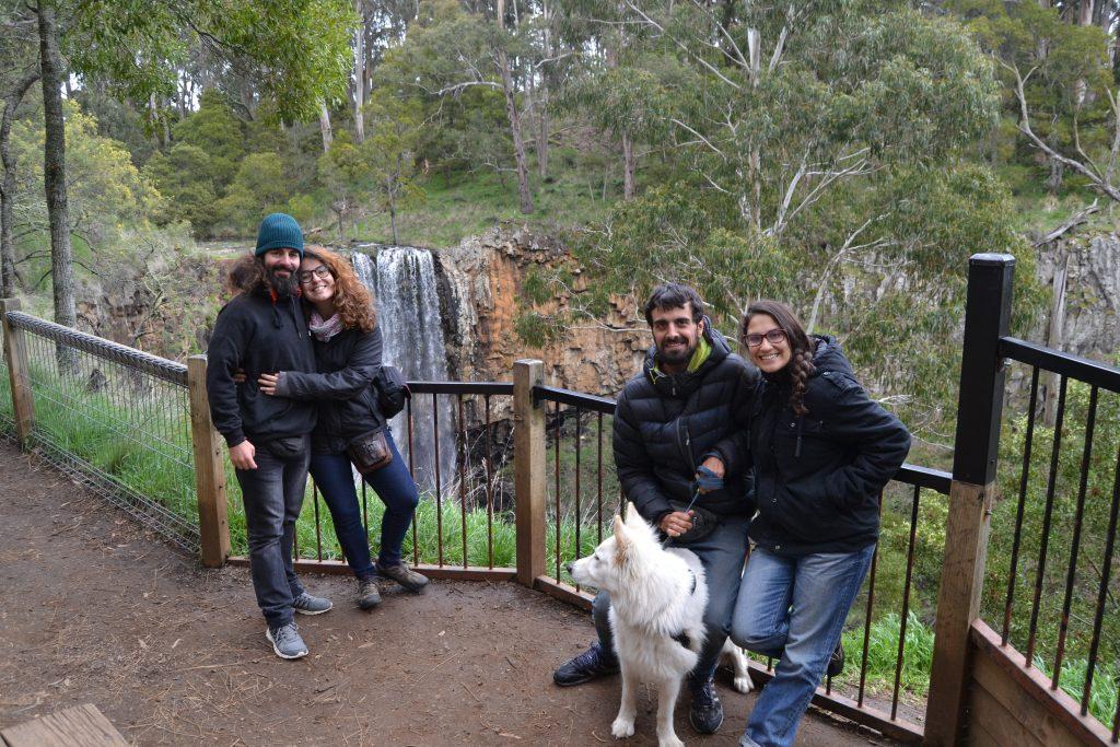 Con Fani y Barbas de Mas Mochila y Menos rutina en Australia