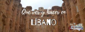 ¿Qué ver en Líbano?