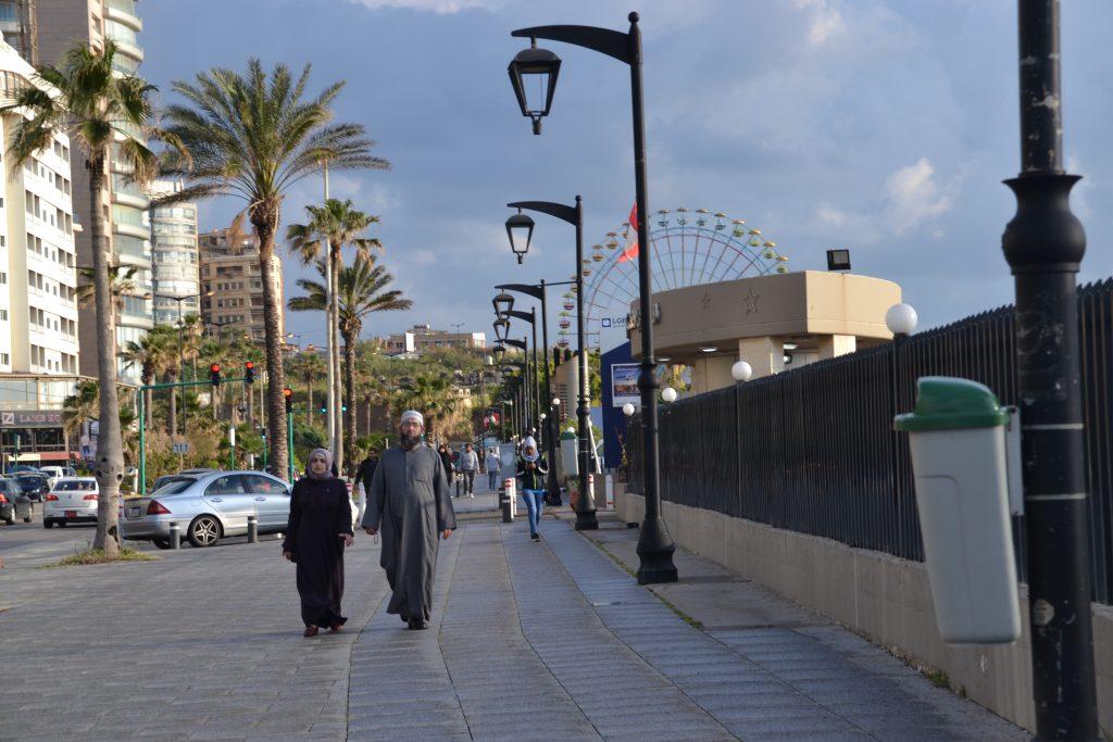 Foto desde la Cornise de Beirut