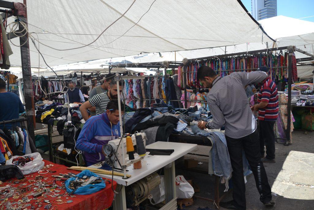 Zoco de Beirut donde puedes encontrar todo tipo de ropas
